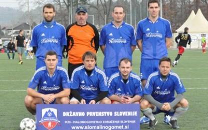 Šipca veterani prvaki letne lige LJUBLJANA 2013