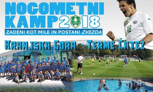 Prijave na nogometni kamp 2018 so tu!